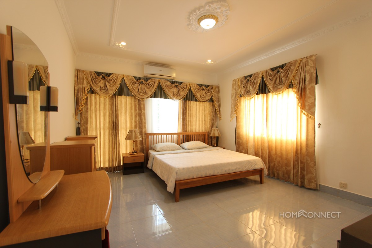 Spacious 1 Bedroom 2 Bathroom Apartment for Rent in Russian Market   Phnom Penh Real Estate