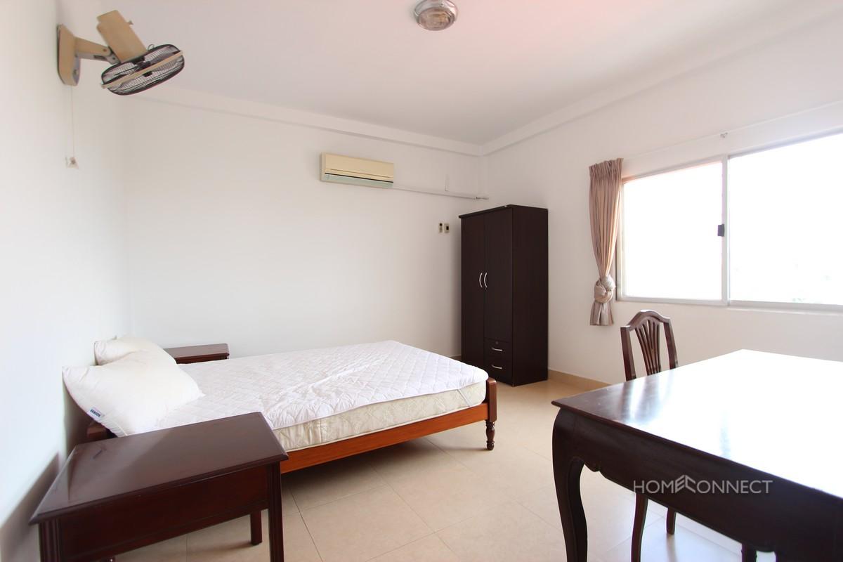 Large Terrace 2 Bedroom Apartment For Rent In Wat Phnom | Phnom Penh Real Estate