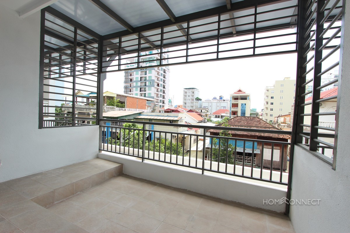 Modern 1 Bedroom 1 Bathroom Apartment For Rent in BKK3 | Phnom Penh Real Estate