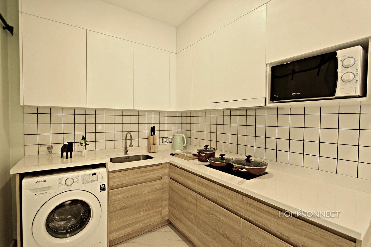 Modern Serviced Studio Apartment for Rent in BKK1 | Phnom Penh Real Estate