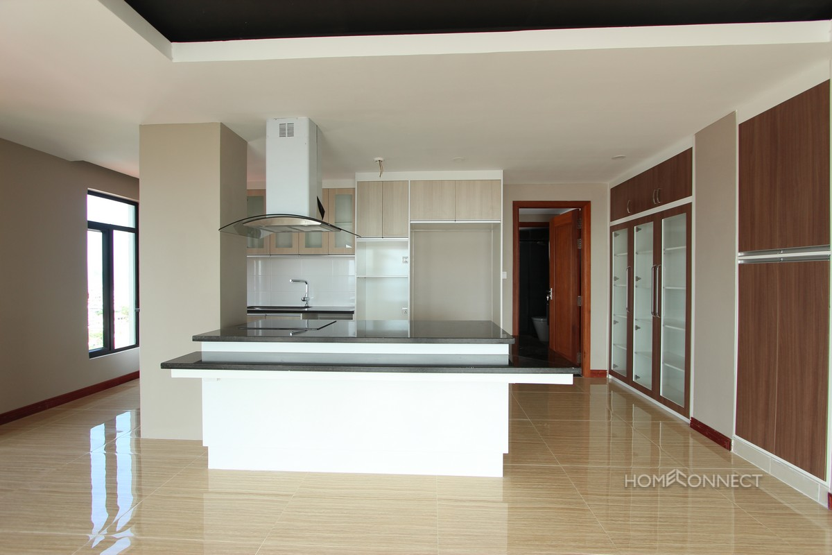 Luxurious 3 Bedroom 3 Bathroom Penthouse for Rent Near Russian Market | Phnom Penh Real Estate
