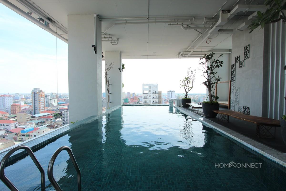 Modern Serviced 1 Bedroom 1 Bathroom Apartment for Rent in Russian Market   Phnom Penh Real Estate