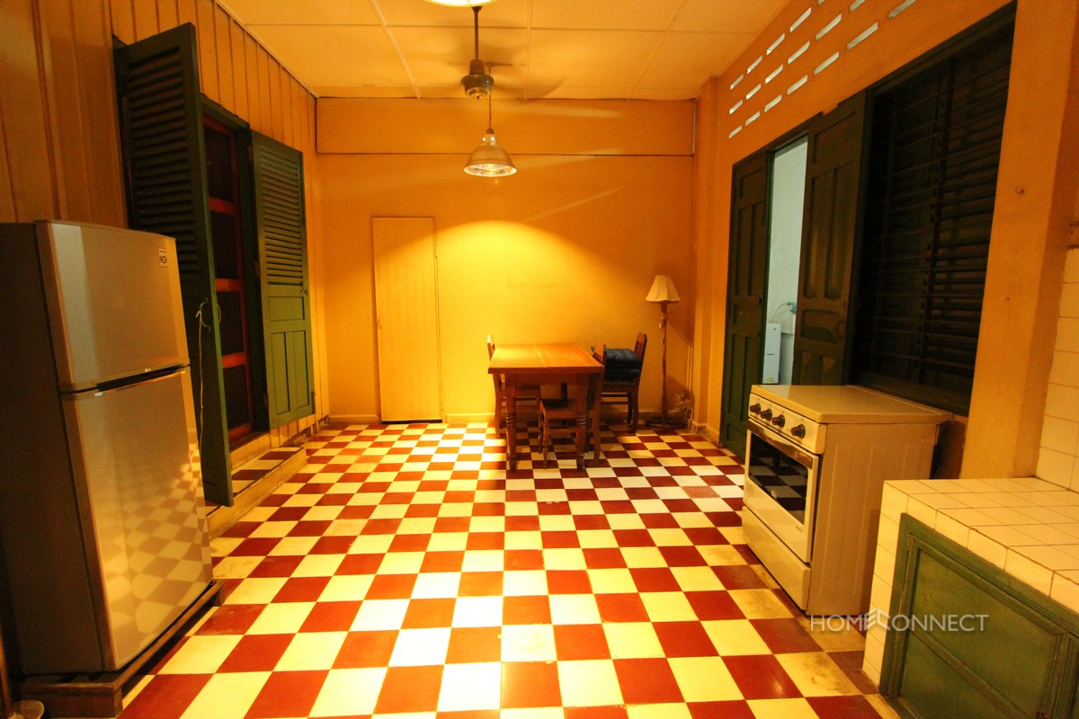 French Colonial 2 Bedroom Apartment For Rent in BKK1 | Phnom Penh Real Estate
