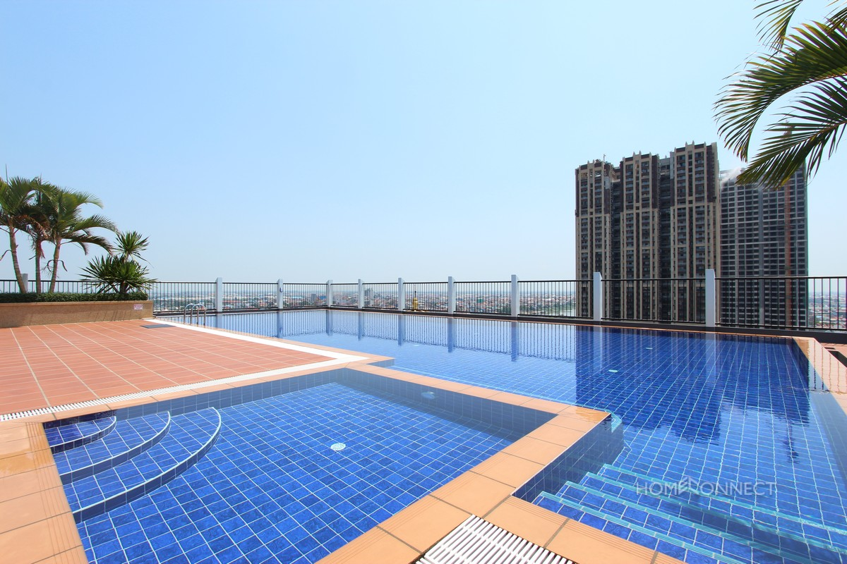 Western 2 Bedroom Apartment in South Tonle Bassac | Phnom Penh Real Estate