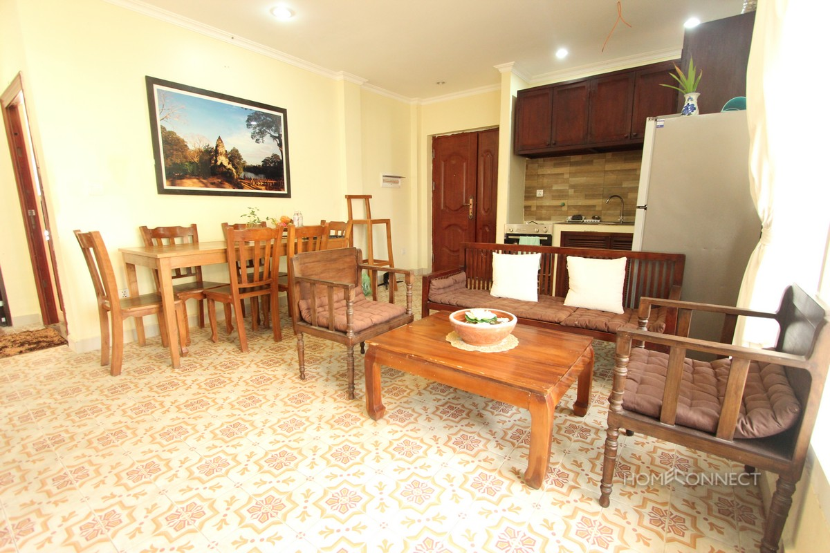 Colonial Style 3 Bedroom Apartment Near Russian Market | Phnom Penh Real Estate