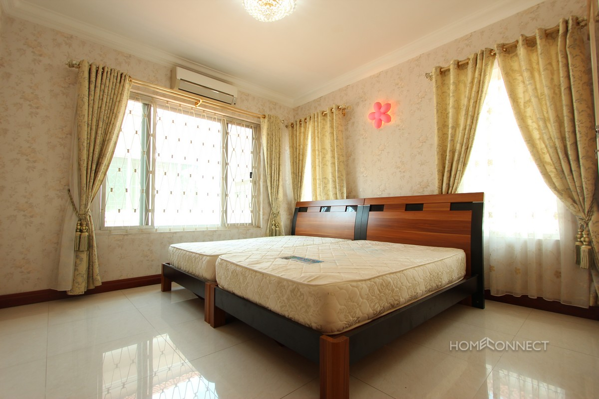 Family Sized 3 Bedroom Villa Beside Aeon Mall | Phnom Penh Real Estate