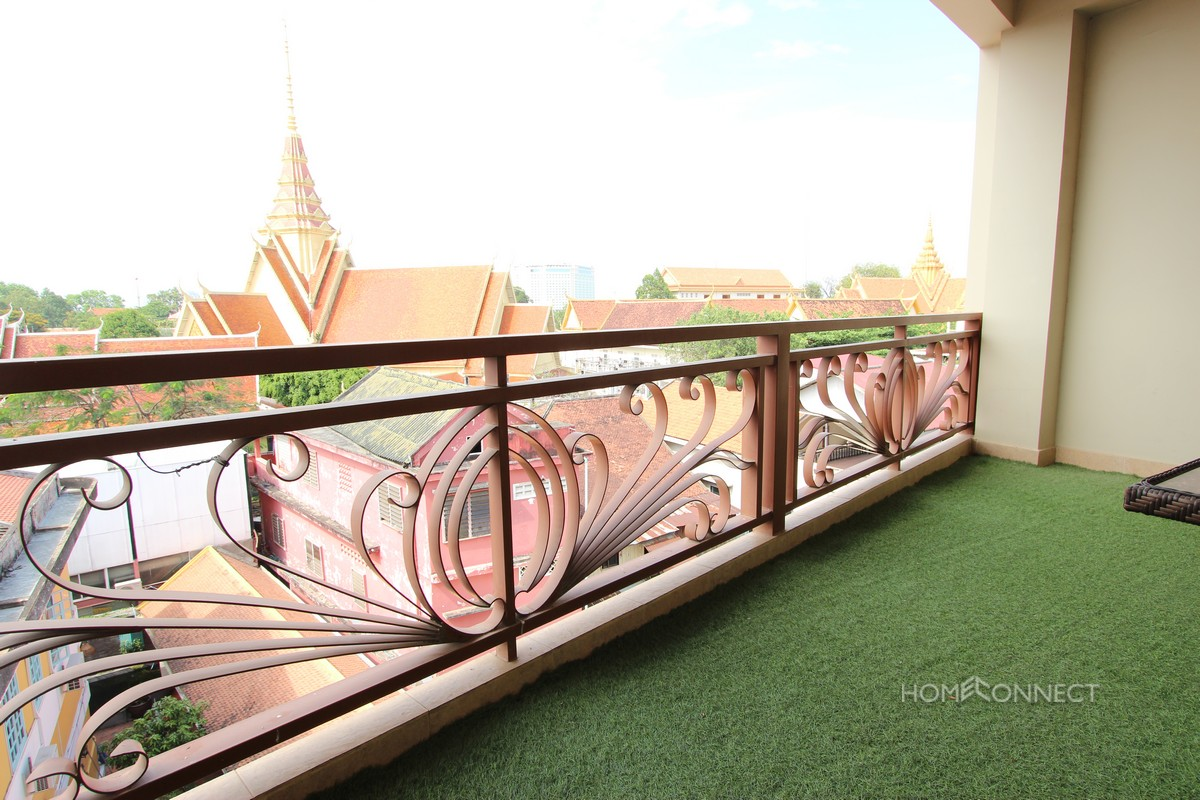 Spacious 2 Bedroom Apartment Beside The Royal Palace | Phnom Penh Real Estate