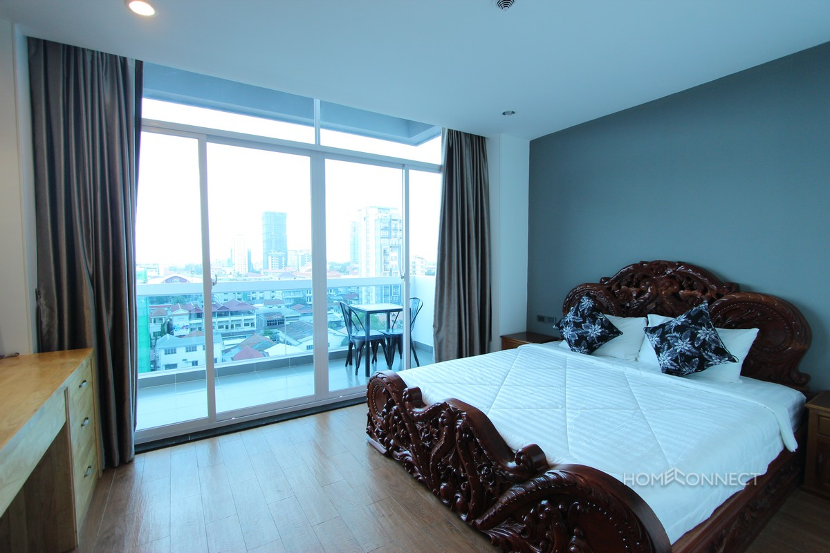 Modern 2 Bedroom Serviced Apartment Close to Russian Market | Phnom Penh Real Estate.