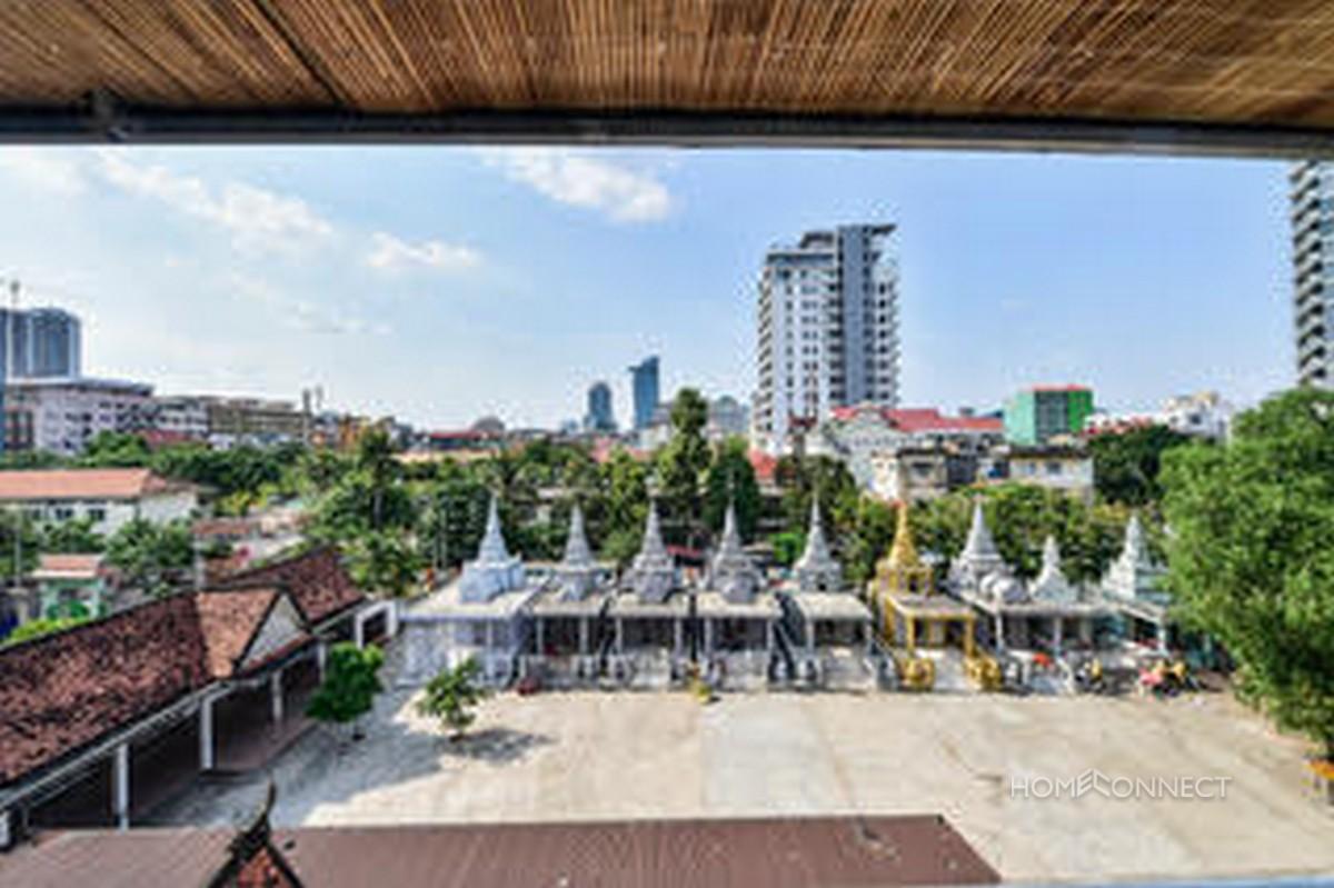 Large Terrace 2 Bedroom Apartment For Rent in Daun Penh | Phnom Penh Real Estate