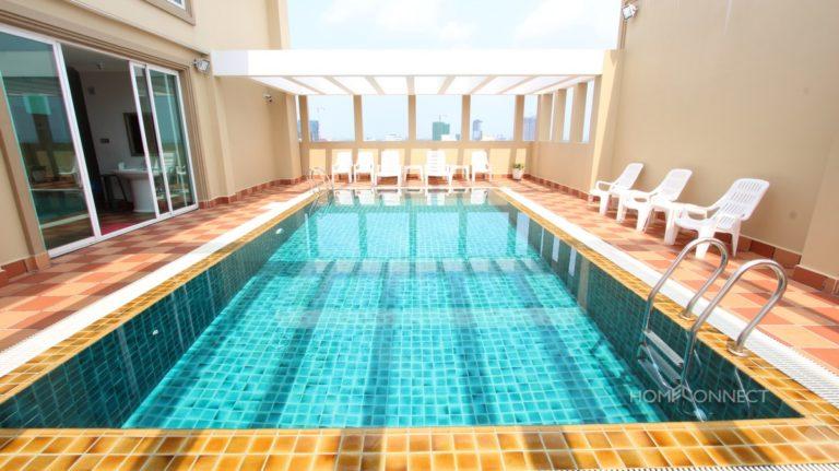 Rooftop Swimming Pool 2 Bedroom Near Russian Market   Phnom Penh Real Estate