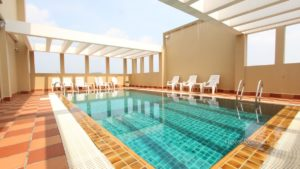 Rooftop Swimming Pool 2 Bedroom Near Russian Market | Phnom Penh Real Estate
