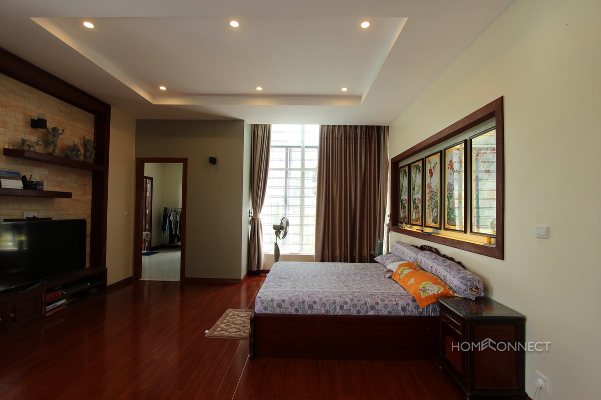 Large Family Sized 6 Bedroom Villa For Rent in Prek Eng | Phnom Penh Real Estate