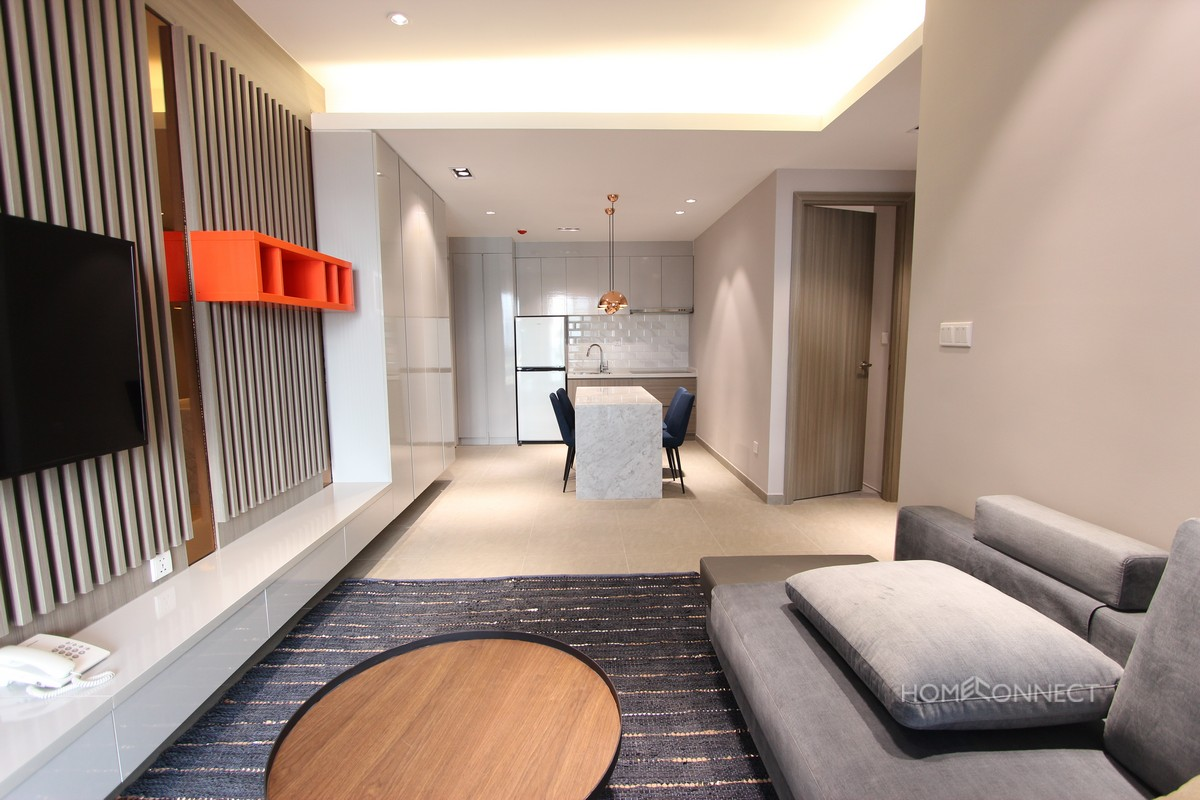 Bright Western Style 2 Bedroom in Central BKK1 | Phnom Penh Real Estate