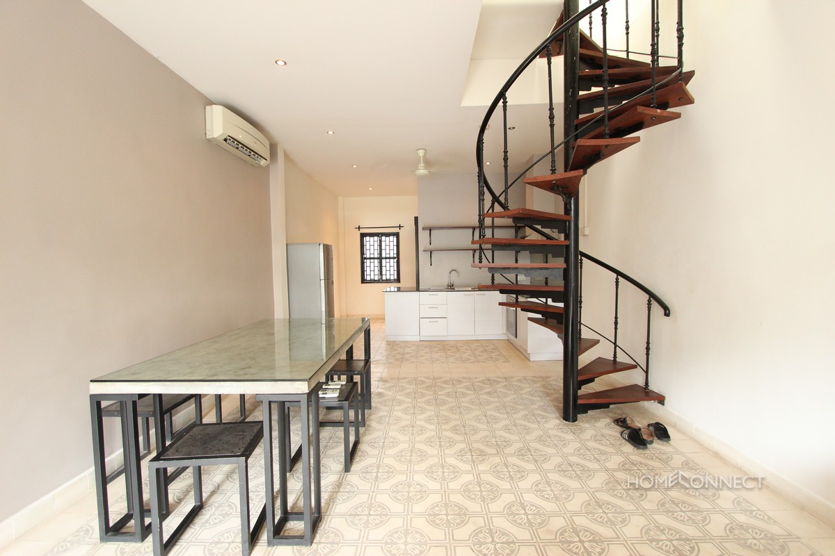 Renovated 2 Bedroom 3 Bathroom Apartment For Rent Near Riverside | Phnom Penh Real Estate